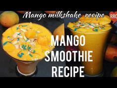 Mango Smoothie Recipes, Milkshake Recipes, Mango Milkshake, The Creator, Cooking Recipes, Restaurant, Youtube, Style, Swag