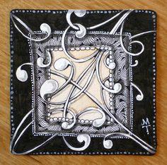 Zentangle: A Frame of Mine [d]