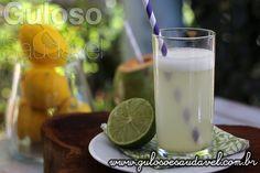 Receita de Suco de Limão Detox