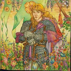 Book:A game of thrones coloring book Medium:CARAN d'ACHE supracolor soft 30 #gameofthronescoloringbook #gameofthrones #coloringbook #adultcoloring