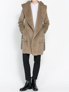 Hooded cocoon coat cocoon coats coats and wool blend