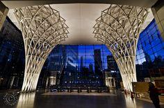 brookfield place pavilion | ... Train West Concourse Tunnel & Brookfield Place Glass Pavilion Photos