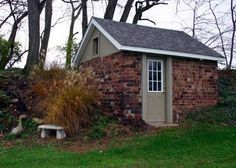 shed with brick | ... Five Step Guide for Building a Brick Shed | Shed Blueprints
