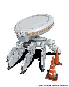 6 legs tiny Robot / Drone