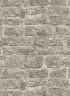 Erismann Rustic Brick Stone Effect Wallpaper Beige 5818 11 Vinyl Washable | eBay
