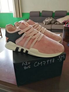 947ad14e70bf Adidas Consortium X Overkill Boost EQT Lacing ADV Vapour Pink Icey Pink nike  sneakers vintage Shoe