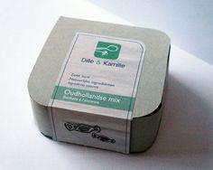 Cadeau verpakking snoep Dille & Kamille