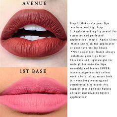 Ultra Satin Lips for Days COLOURPOP Tulle Avenue Succulent Drive in Dount 1st Base Pacific Zipper Lax Solow Liquild Lipstick - Pandora Fashion