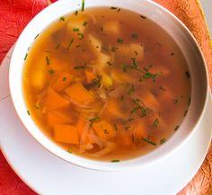 Feel Good: Sopa de miso com Alga Kombu e legumes