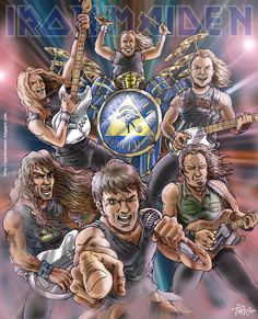 IRON MAIDEN Somewhere Back In Time by pardocomics on DeviantArt