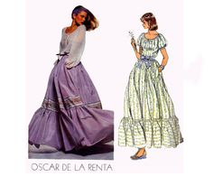 70s Oscar De La Renta Peasant Blouse and by allthepreciousthings