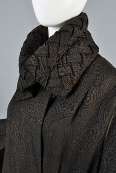 1920s Lamé Coat with Draped Sleeves | BUSTOWN MODERN
