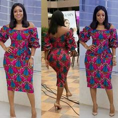 Ghanaian TV Star Joselyn Dumas Rock This Lovely Classical Ankara Gown Styles well as usual African Fashion Ankara, African Inspired Fashion, African Print Dresses, African Print Fashion, Africa Fashion, African Dress, African Prints, Ankara Long Gown Styles, Ankara Gowns