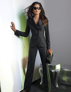 Simple Business Pant Suits For Working Women