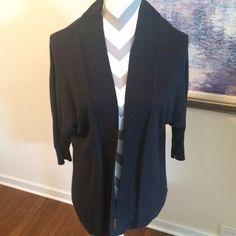 Michael Kors dark navy blue sweater Great sweater,  only worn twice, great piece Michael Kors Sweaters Cardigans
