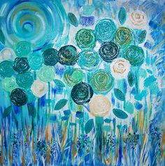 Roses are Blue by Laurie Rouse