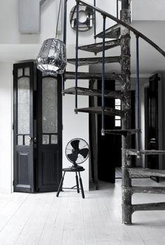 Industriële trappen - industrieel interieur