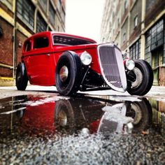 What a dream Vintage Hot Rod from 1936. Hit the image to see... #spon #retro #HotRod
