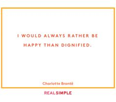 The Real Simple Daily Thought, and I'm always happy reading books!