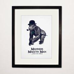 http://chicerman.com  gentlemansessentials:  Manners Maketh Man  Gentlemans Essentials  #accessories