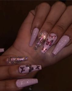 Acrylic Nails Coffin Pink, Long Square Acrylic Nails, Summer Acrylic Nails, Summer Nails, Coffin Shape Nails, Stiletto Nails, Spring Nails, Clear Acrylic, Acryl Nails