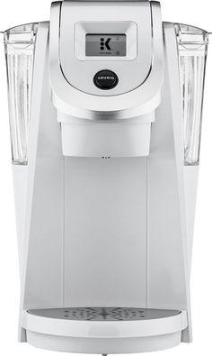 Keurig - K200 2.0 Plus Series Coffeemaker - White