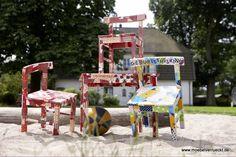 Kurs: Kreativer Geburtstag * Upcycling für Kinder * Geburtstagsfeier basteln * Kindergeburtstag Hamburg
