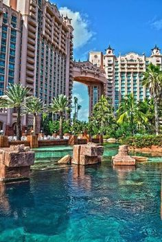 Atlantis Paradise Island Resort, Bahamas.  Go to www.YourTravelVideos.com or just click on photo for home videos and much more on sites like this.
