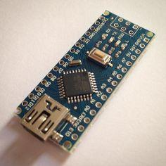 Say hello to my nano friend... #arduino #nano #arduinonano #microcontroller #diy #electronics #usb #irproject by cdemetriadis