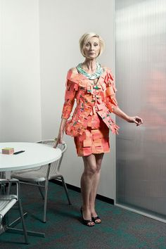 Office Supplies + Fashion?!?!?