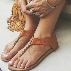 """@Regrann from @mahiya_leather -  Tans and turquoise  our leather Chico sandals are made for summer adventures ~ www.mahiya.com.au #mahiya #boholife…"""