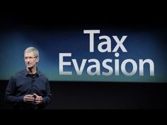 Tax Evasion from large US Corporations!  Learn from the big boys. TAX EVASION! New from Apple
