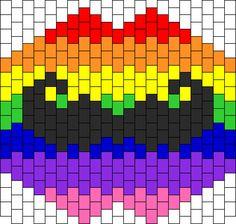 Rainbow Stash Kandi Mask