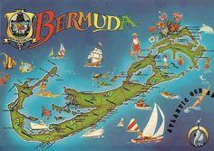 Image result for bermuda postcards