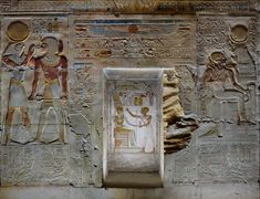 [Egypt 'Seti I in Amun Chapel at Abydos. Ancient Egypt, Ancient History, Mystery Plays, Places In Egypt, Visit Egypt, Black History Facts, Egyptian Art, Love Symbols, Dungeons And Dragons