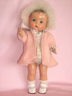 """c1930's 13"""" American Character Toddler Type, Composition Doll - Precious!"""