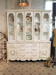 Painted Cottage Chic Shabby White Romantic Tea