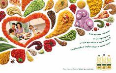 Campanha para os óleos Salada. Bunge Alimentos. Direção de arte