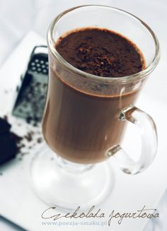 Jogurtowa czekolada do picia (Yogurt Chocolate To Drink - recipe in Polish)