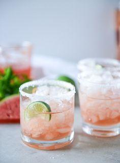 Watermelon Rosé Margaritas. | How Sweet It Is | Bloglovin'