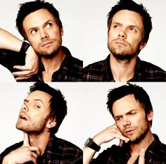 """Follow what your head is telling you and work hard. That's the big secret."" - Joel Mchale. My obsession has grown for this man since I saw him do his stand-up live. <3"