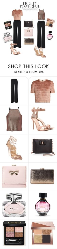 """""""Pretty woman"""" by tina-b-26 ❤ liked on Polyvore featuring Roland Mouret, Raey, Miss Selfridge, Gianvito Rossi, Dsquared2, Ted Baker, Gucci, Victoria's Secret and Bobbi Brown Cosmetics"""