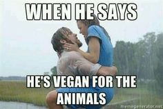 A Little Bit Of Vegan Fun With These Seriously Funny Memes - We share because we care. A resource for sharing the latest memes, jokes and real stuff about parenting, relationships, food, and recipes Funny Vegan Memes, Funny Memes, Jokes, Funny Quotes, Why Vegan, Vegan Vegetarian, Vegan Raw, Vegetarian Memes, Vegan Soup