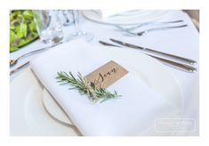rustic name place cards with fresh herbs and flowers Wedding Places, Wedding Place Cards, Wedding Venues, Wedding Ideas, Name Place Cards, Place Names, Name Cards, Fall Table, Fresh Herbs