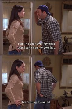 F♥ck Yeah Gilmore Girls! (gilmore girls,lauren graham,scott patterson)