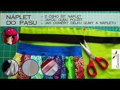 Jak odměřit náplet a gumu do pasu? Z čeho šít pružný pas? Packing, Sewing, Easy, Youtube, Fashion, Bag Packaging, Moda, Dressmaking, Couture