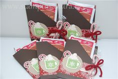 Christmas Hot Chocolate Gift Holder by stampinsandra! - Cards and Paper Crafts at Splitcoaststampers