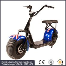 [Outdoor Sports] 2017 new 2000w 60V 12ah 2 wheel electric bike/scooter/motorcycle citycoco with rear light and mirro
