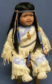 picturesofindiandolls - Google Search Dolly Doll, Native American Dolls, Indian Dolls, Vinyl Dolls, Cute Dolls, Craft Gifts, Indiana, Baby Dolls, Captain Hat