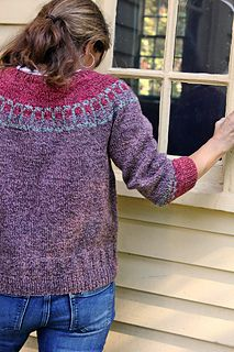 Dobbs Ferry pullover pattern (for purchase)
